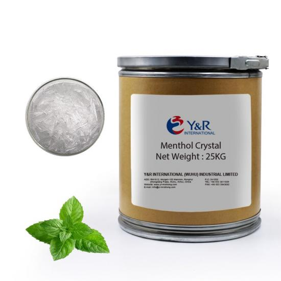 Natural Menthol Crystal CAS NO 2216-51-5