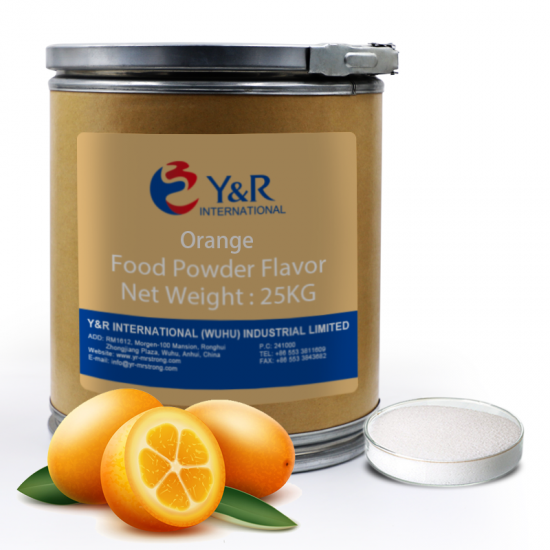 Orange powder food flavor